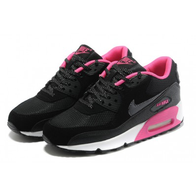 air max 90 noir et rose