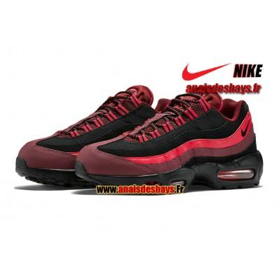 air max 95 noir et rouge