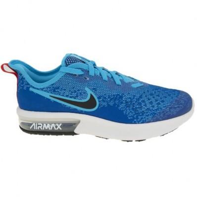 air max sequent bleu
