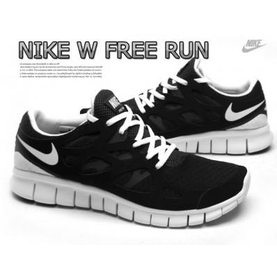 nike free run 2 noir et blanc
